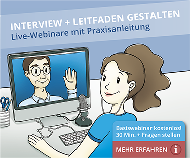 Webinar Interviews in der Qualitativen Forschung