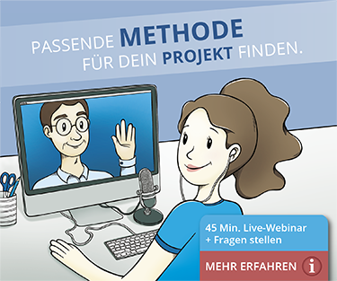 Webinar Methodenwahl
